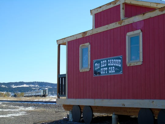 The Lewistown Area Chamber added a caboose gift store