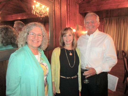 Susan Malcolm, Yvonne and Mark Mitchell