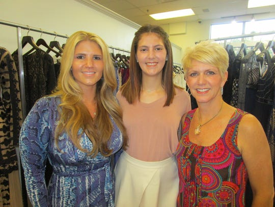 Annie Spell, Victoria and Dana Topham