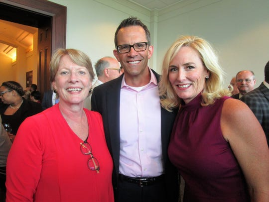 Hon. Rebecca Doherty, David and Colleen Barczyk