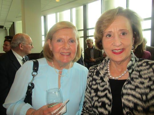 Susie Drell and Hon. Elizabeth Foote