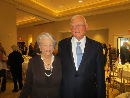 Celia and Judge Gene Davis