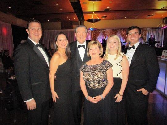 Randy and Gretchen Neuner Daniel, Frank and Tracy Neuner, Mary-Frances Neuner and David Haynes