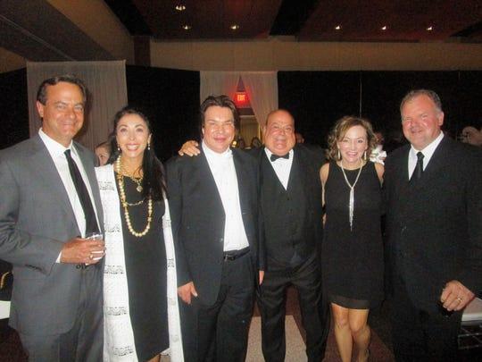 Bill and Tressie Ham, Kim Veillon, Marty Thibodeaux, Cindy and Claiborne Self