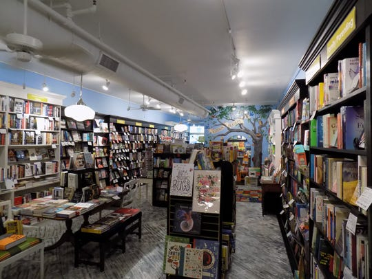 Interior of Midtown Reader where, Saturday, a day-long