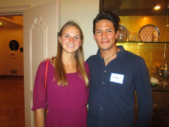 Annika Schmidt and Edgar Lopez