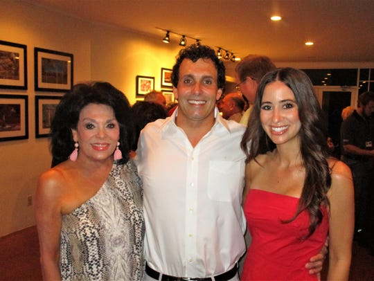 Sharon Moss, Coury and Sarah Moss