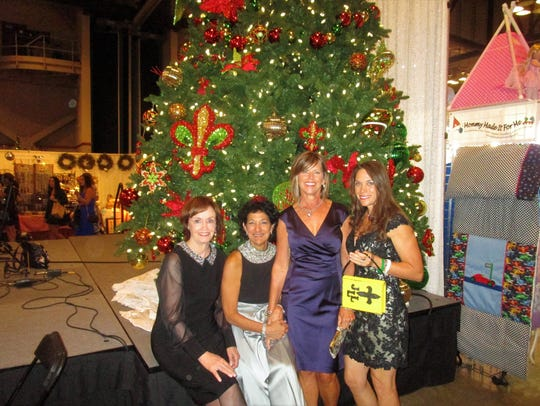 Miriam Bourgeois, Cecile Mouton, Leslie Fritcher and