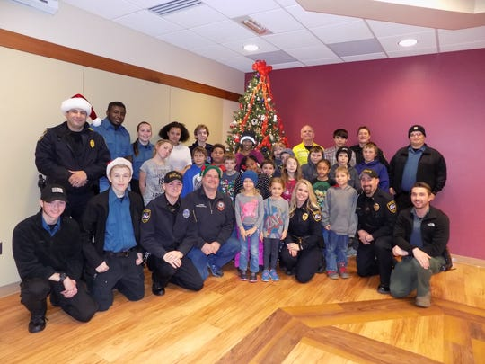 Two Rivers Police Department hosted its Shop with a