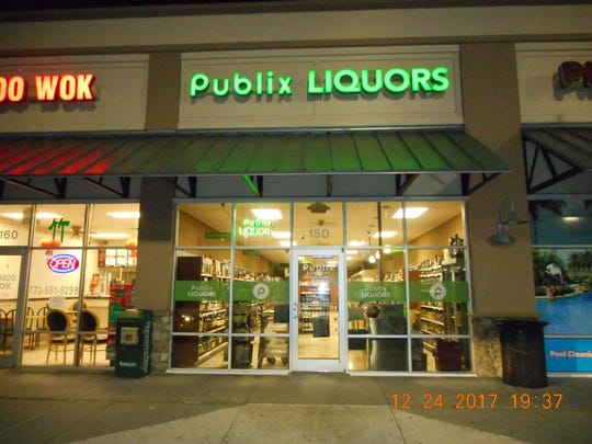 Sebastian police are searching for man suspected of robbing a Publix Liquors on Christmas Eve.