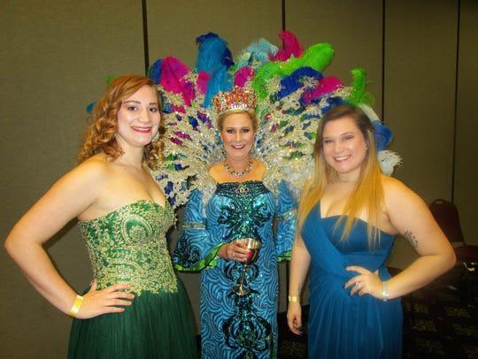 Raven Trahan, Kimberly Trahan and Madelene Trahan