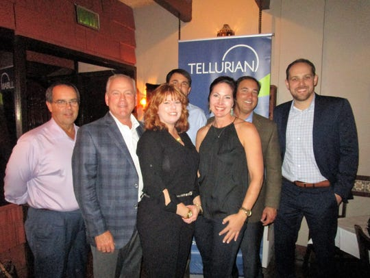 The Tellurian reception for LAGCOE members was held