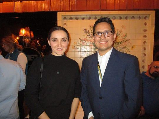 Maria Jose Del Rio and Gilberto Romero