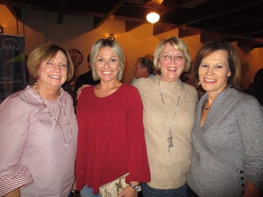 Nancy Wild, Renee Leblanc, Theresa Watts and Katherine