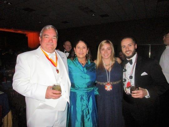 Robert and Janice Copeland, Beth Copeland and Anthony