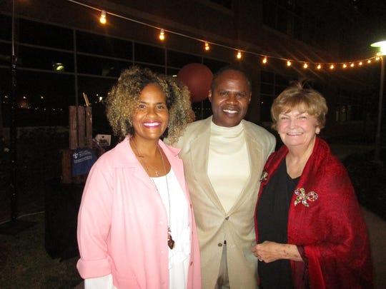 Linda Peters, Bently Senegal and Rae Logan