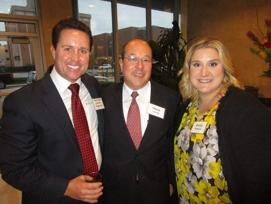 Hon. Charles Fitzgerald, Steve Lanza and Emily Breaux