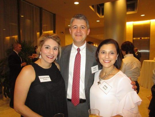 Stephanie O'Pry, Kyle and Amy Bacon