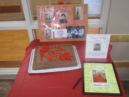 West Hickory Haven hosted a party, complete with cake,