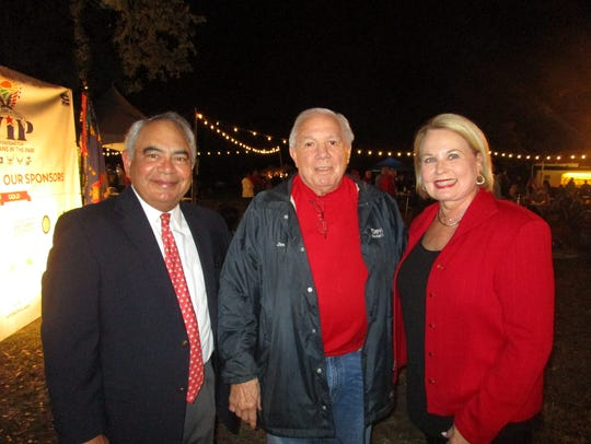 Don Bacque, Jim Moncus and Ginger Roy