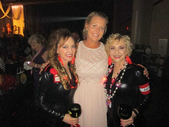 Cindy Self, Amee Guidry and Colleen Orgeron