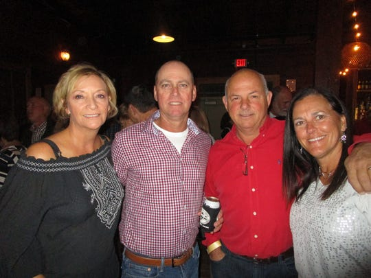 Janis and Jamie Fabre, Sammy and Ann Hebert