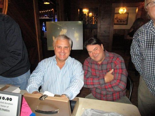 Paul Eason and Jimmy Domengeaux