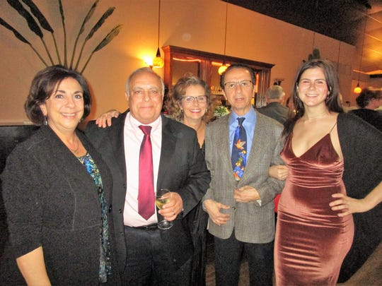 Penny McGeehee, Richard Tanory, Nanette Fisher, Mohamad Bahlawan and Shelby Gordon