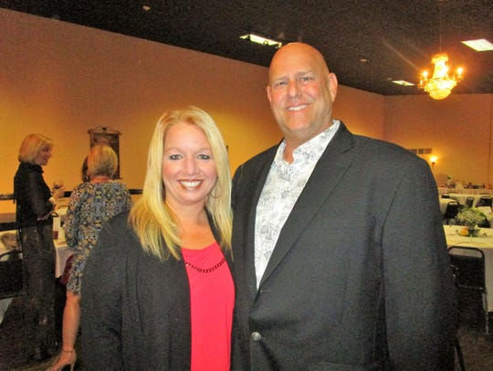 Amy and John Davis