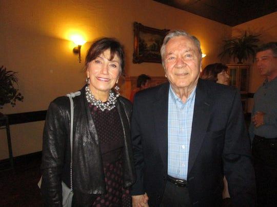 Carol Ross and Ron Gomez