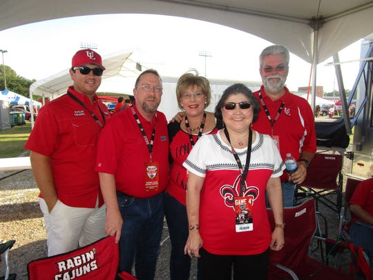 Andrew Sonnier, Robert and Kay Green, Lena and Daryl