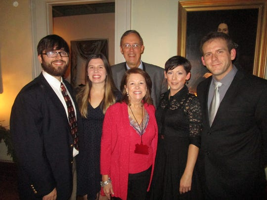 William Ganucheau, Cassie Babineaux, Louise and Bill