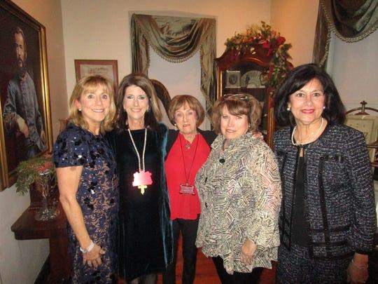 Ann Clark, Anita Saitta, Fran Kellner, Laura Ann Edwards