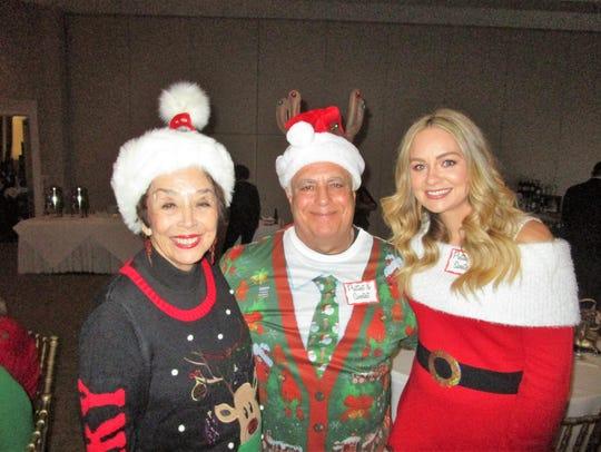Nancy Prince, Richard Tanory and Jessica McGehee