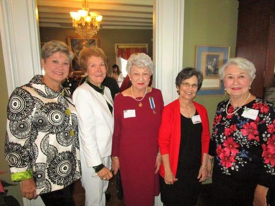 Kathy Stokley, Celia Foard, Betty Wolf, Jessica Bernard