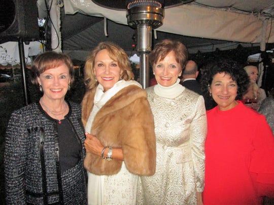 Miriam Bourgeois, Christine Lemoine, Doris Tatford and Cecile Mouton