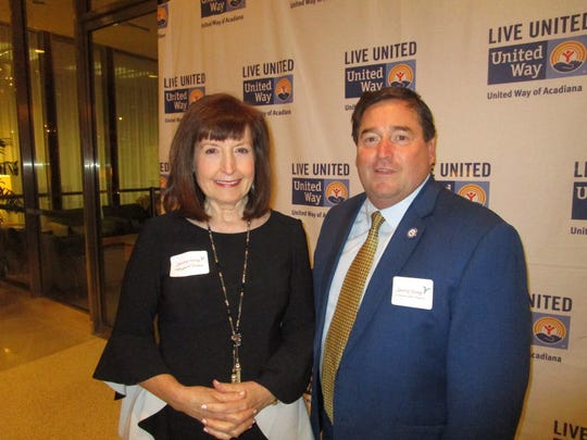 Margaret Trahan and Billy Nungesser