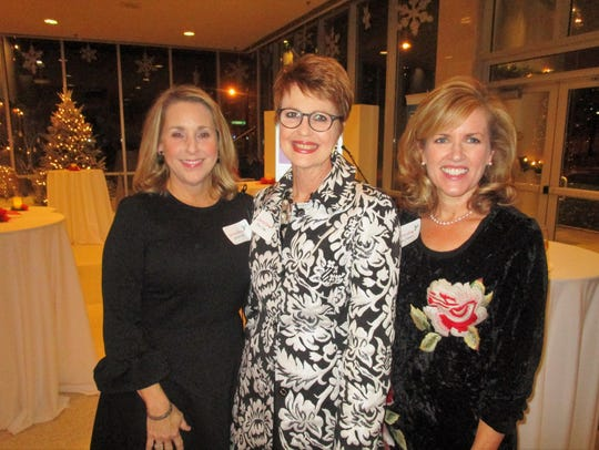 Jackie Hill, Toni Eddy and Angie Comeaux