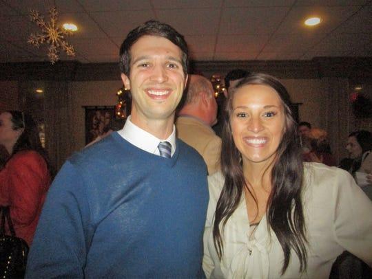 Matt Long and Brooke Bond