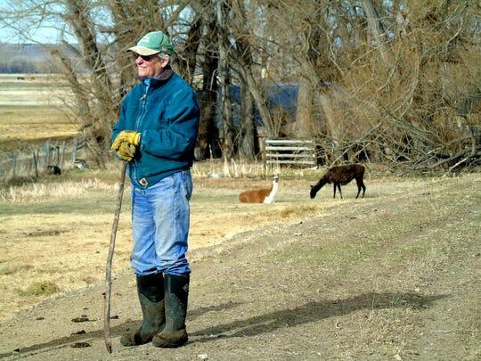 Ruth Mortag's former husband rescued llamas ... and