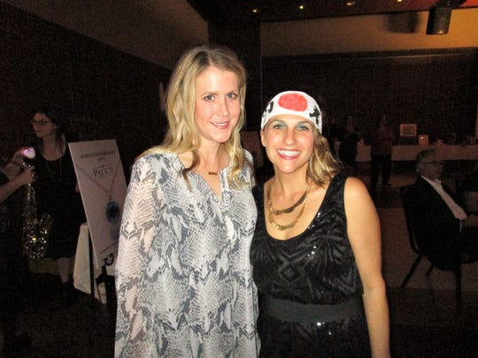 Julie LeBlanc and Tracy Fabre