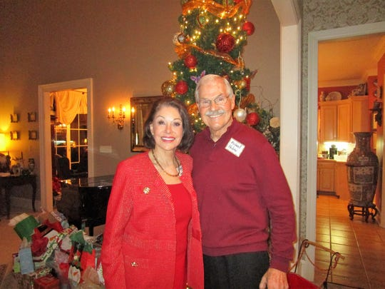 Carolyn French and Mike Huber
