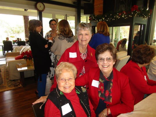 Elaine Mann, Beverly Daspit and Phern Stagg