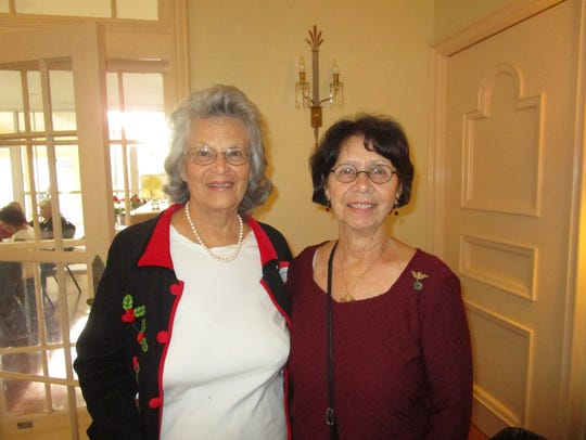 Glenda Balliviero and Linda Bourg
