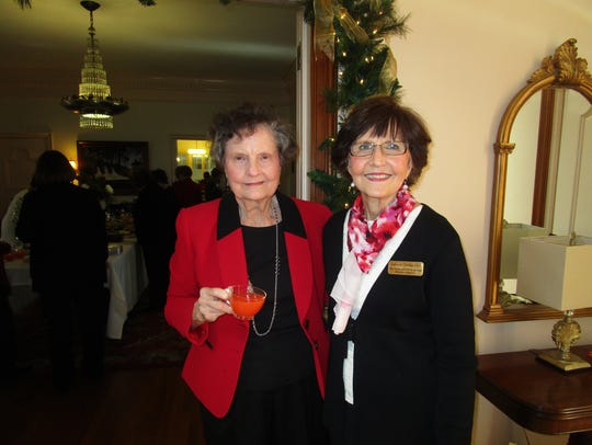Claire Moody and Margaret Hargroder