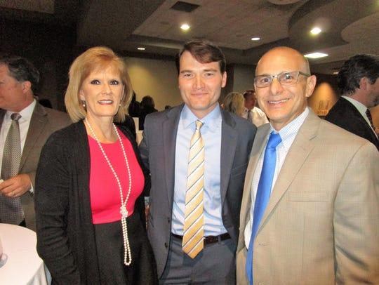 Kathy Bobbs, Jim Bourgeois and Joe Zanco