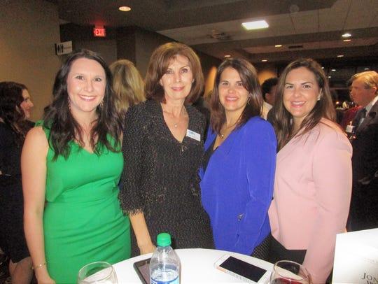 Anita Begnaud, Joan Dubuisson, Kati Presas and Meri