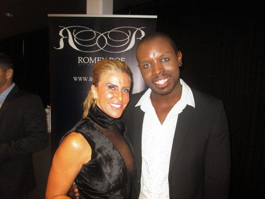 Leslie Jacobs and Romey Roe
