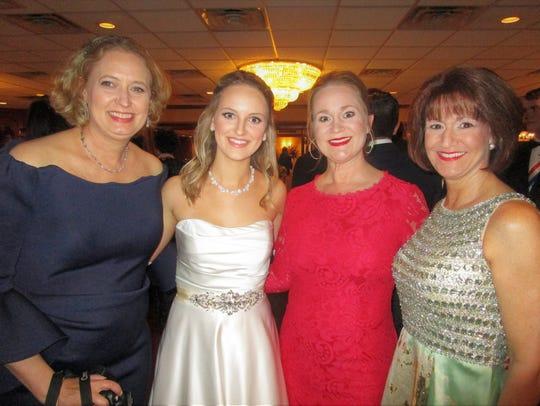 Suzanne Gaiennie, Isabella Moreau, Ruthie Laporte and