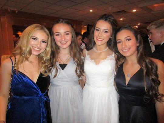 Alice Monceaux, Adrienne Wyble, Rachel Padgett and